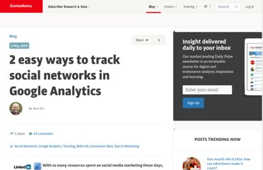 http://econsultancy.com/blog/3761-2-easy-ways-to-track-social-networks-in-google-analytics