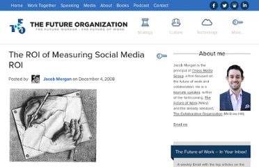 http://www.jmorganmarketing.com/the-roi-of-measuring-social-media-roi/