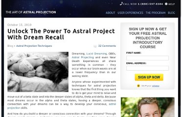 http://www.theartofastralprojection.com/blog/astral-projection-dream-recall
