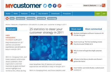 http://www.mycustomer.com/topic/customer-experience/25-statistics-steer-your-customer-strategy-2011/117257