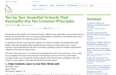http://www.essentialschools.org/resources/89