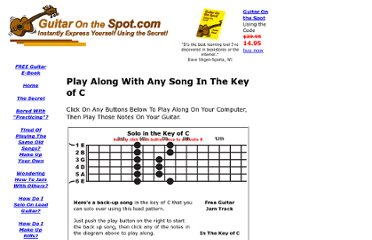 http://www.guitar-on-the-spot.com/jam-on-guitar-in-the-key-of-c.html