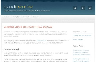 http://azadcreative.com/2010/11/designing-search-boxes-html5-css3/