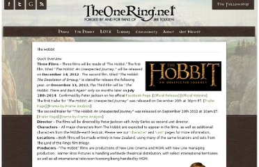 http://www.theonering.net/torwp/the-hobbit/