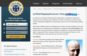 http://www.collegedegree.com/library/college-life/99-mind-mapping