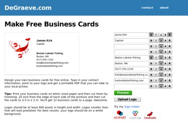http://www.degraeve.com/business-cards/