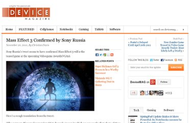 http://www.devicemag.com/2010/11/20/mass-effect-3-confirmed-by-sony-russia/