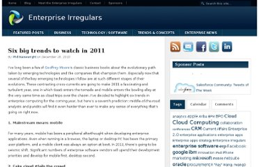 http://www.enterpriseirregulars.com/30949/six-big-trends-to-watch-in-2011/
