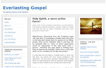 http://everlasting-gospel.blogspot.com/2009/02/holy-spirit-mere-active-force.html
