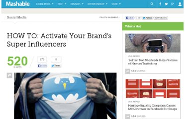 http://mashable.com/2010/11/12/activate-super-influencers/#