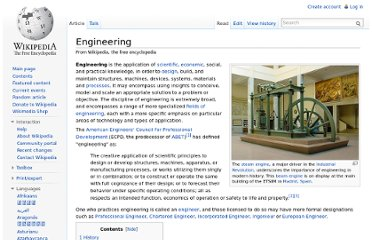 http://en.wikipedia.org/wiki/Engineering