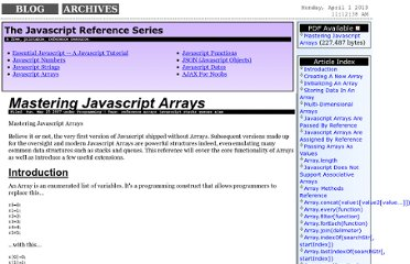 http://www.hunlock.com/blogs/Mastering_Javascript_Arrays