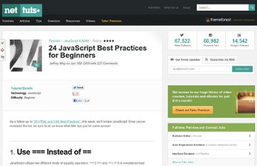 http://net.tutsplus.com/tutorials/javascript-ajax/24-javascript-best-practices-for-beginners/