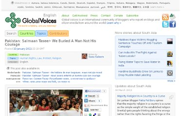 http://globalvoicesonline.org/2011/01/13/pakistan-salmaan-taseer-we-buried-a-man-not-his-courage/