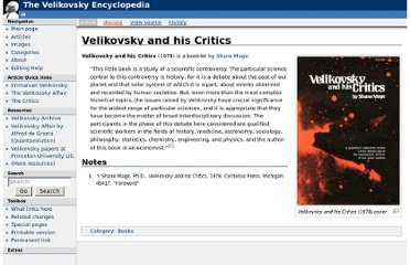 http://www.velikovsky.info/Velikovsky_and_his_Critics