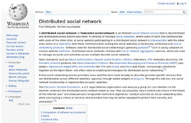 http://en.wikipedia.org/wiki/Distributed_social_network