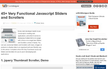http://www.1stwebdesigner.com/freebies/javascript-sliders-scrollers/