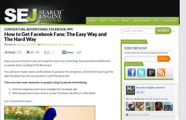 http://www.searchenginejournal.com/how-to-get-facebook-fans/27072/