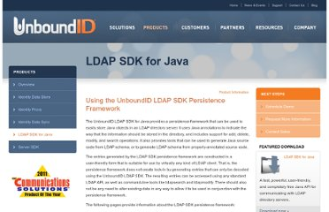http://www.unboundid.com/products/ldap-sdk/docs/persist/index.php