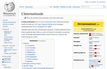 http://fr.wikipedia.org/wiki/L%27Internationale
