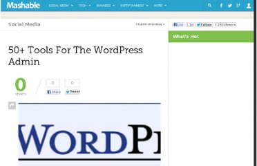 http://mashable.com/2007/07/26/wordpress-admin-plugins/