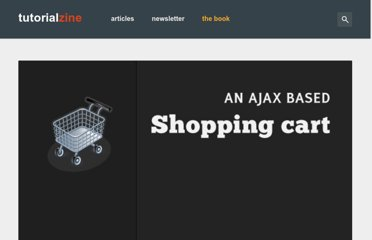 http://tutorialzine.com/2009/09/shopping-cart-php-jquery/