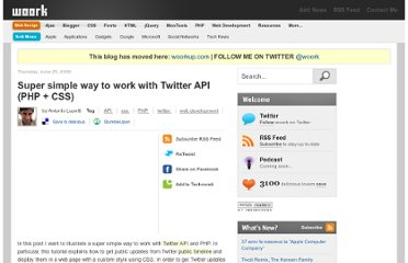 http://woork.blogspot.com/2009/06/super-simple-way-to-work-with-twitter.html