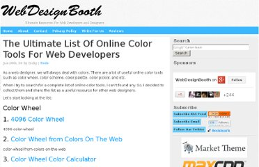 http://www.webdesignbooth.com/the-ultimate-list-of-online-color-tools-for-web-developers/