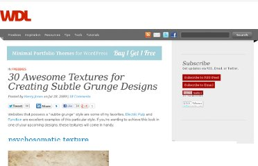 http://webdesignledger.com/freebies/30-awesome-textures-for-creating-subtle-grunge-designs