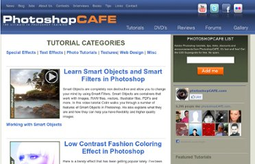 http://www.photoshopcafe.com/tutorials.htm