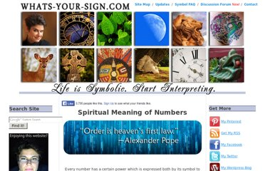 http://www.whats-your-sign.com/spiritual-meaning-of-numbers.html