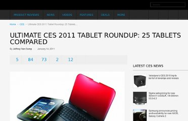 http://www.digitaltrends.com/mobile/ultimate-ces-2011-tablet-roundup-25-tablets-compared/