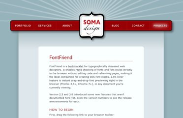 http://somadesign.ca/projects/fontfriend/