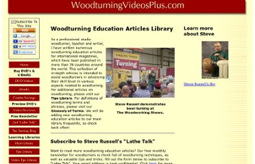 http://www.woodturningvideosplus.com/woodturning-education-articles.html