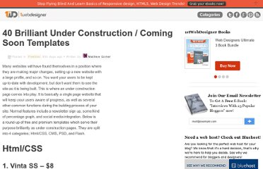 http://www.1stwebdesigner.com/freebies/under-construction-coming-soon-templates/