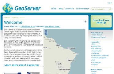 http://geoserver.org/display/GEOS/Welcome