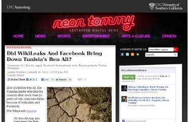 http://www.neontommy.com/news/2011/01/did-wikileaks-and-facebook-bring-down-tunisias-ben-ali