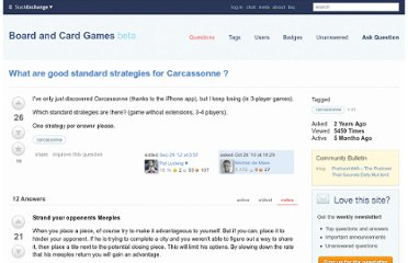 http://boardgames.stackexchange.com/questions/774/what-are-good-standard-strategies-for-carcassonne