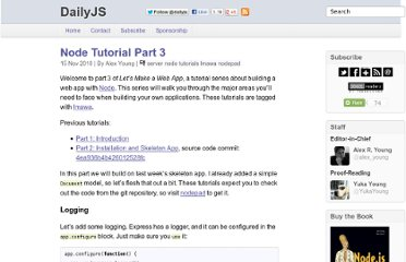 http://dailyjs.com/2010/11/15/node-tutorial-3/