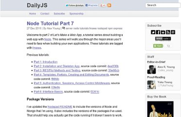 http://dailyjs.com/2010/12/27/node-tutorial-7/