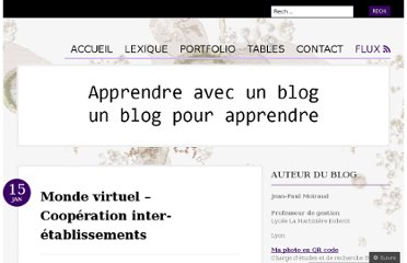 http://moiraudjp.wordpress.com/2011/01/15/monde-virtuel-connections-trans-etablissements/