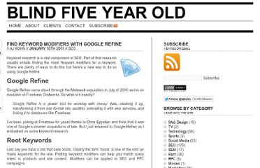 http://www.blindfiveyearold.com/find-keyword-modifiers-with-google-refine