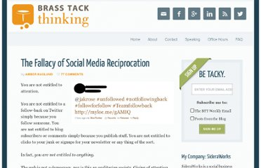http://www.brasstackthinking.com/2011/01/the-fallacy-of-social-media-reciprocation/