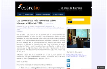 http://estratic.wordpress.com/2010/12/23/los-documentos-mas-relevantes-sobre-interoperabilidad-de-2010/