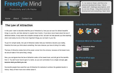 http://freestylemind.com/law-of-attraction/