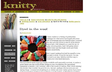 http://www.knitty.com/ISSUEfall02/FEATdyedwool.html