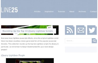 http://line25.com/articles/rounding-up-the-top-10-jquery-lightbox-scripts