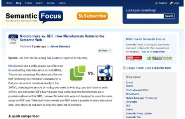 http://www.semanticfocus.com/blog/entry/title/microformats-vs-rdf-how-microformats-relate-to-the-semantic-web/