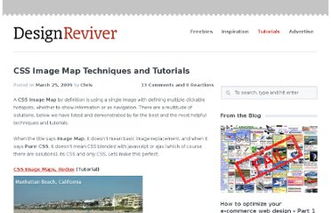 http://designreviver.com/tutorials/css-image-map-techniques-and-tutorials/
