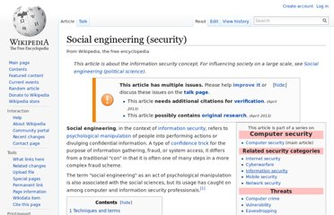 http://en.wikipedia.org/wiki/Social_engineering_(security)